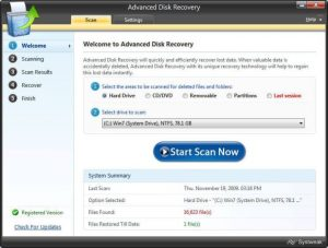 advanced disk recovery tool